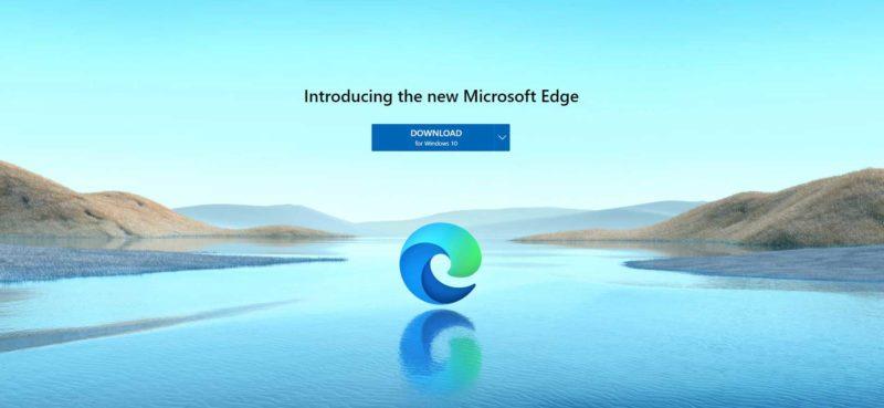 Release of Microsoft Edge Chromium Pepas Cloud
